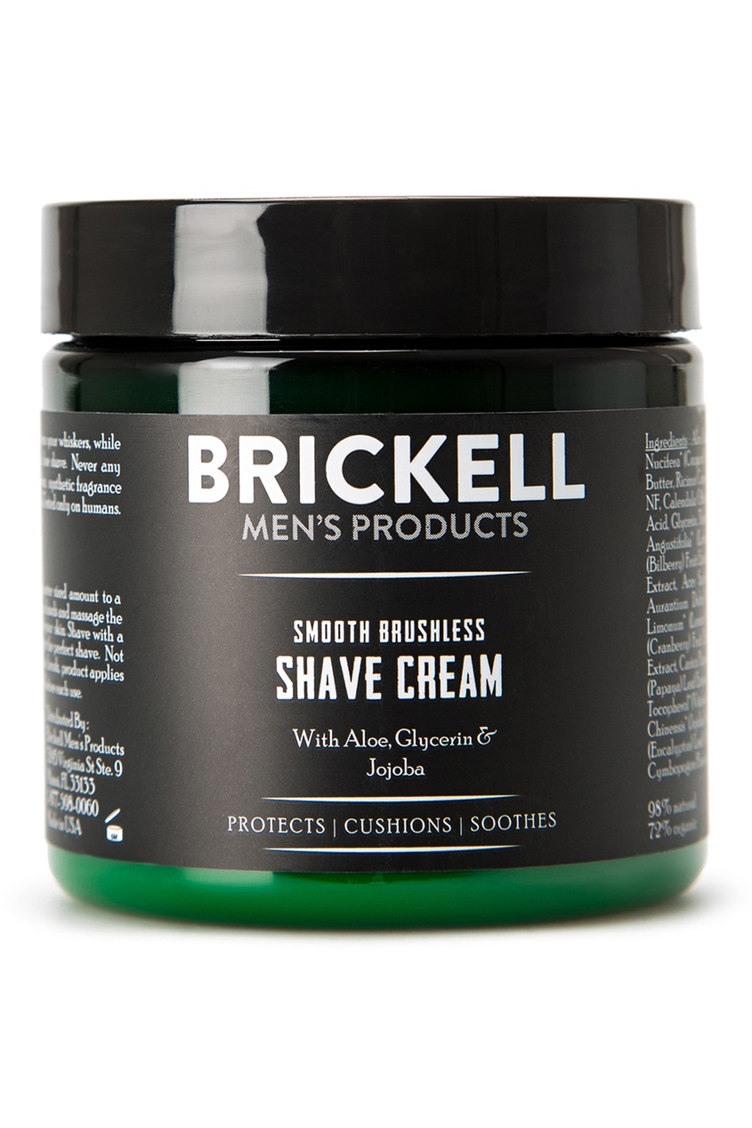Brickell Увлажняющий крем для бритья, 148 ml brickell скраб для лица 59 ml