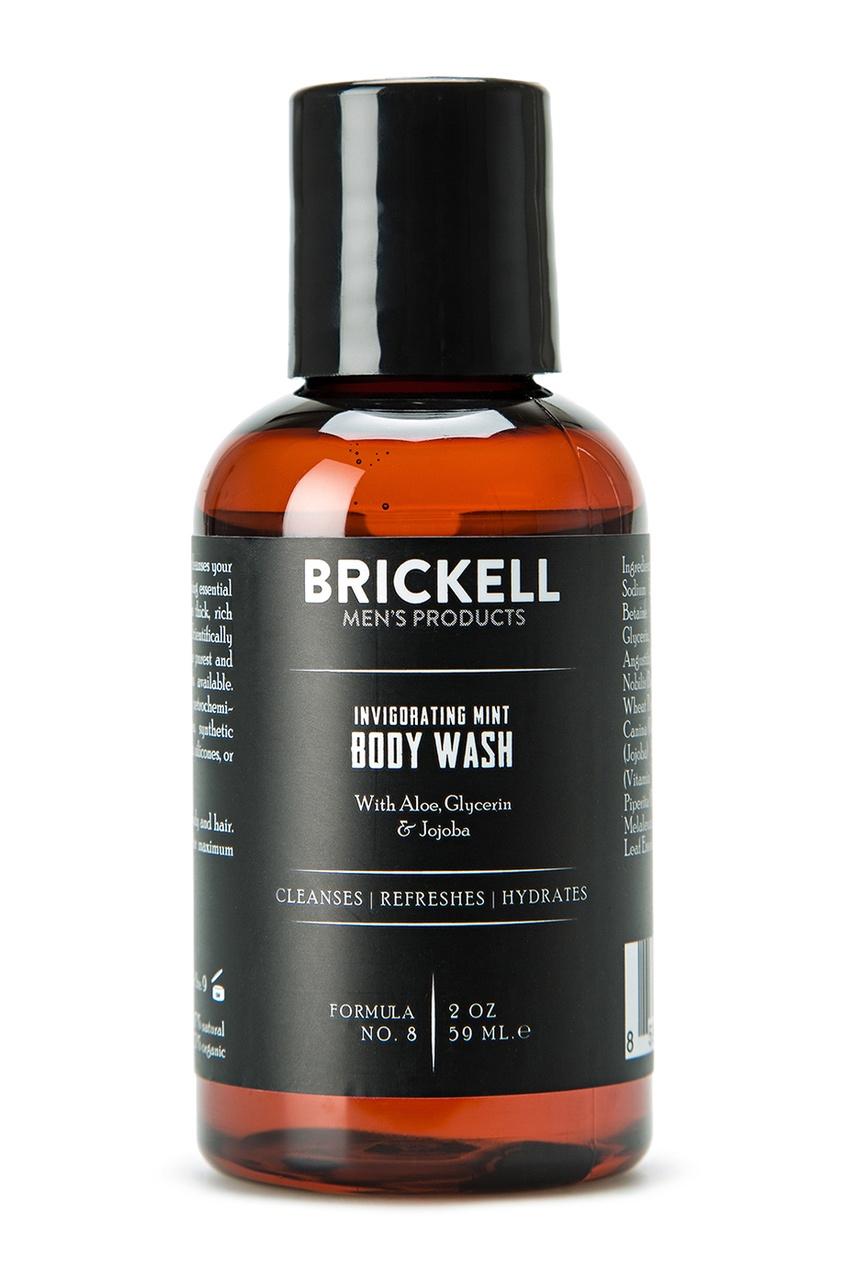 Brickell Гель для душа с ароматом мяты, 59 ml brickell скраб для лица 59 ml
