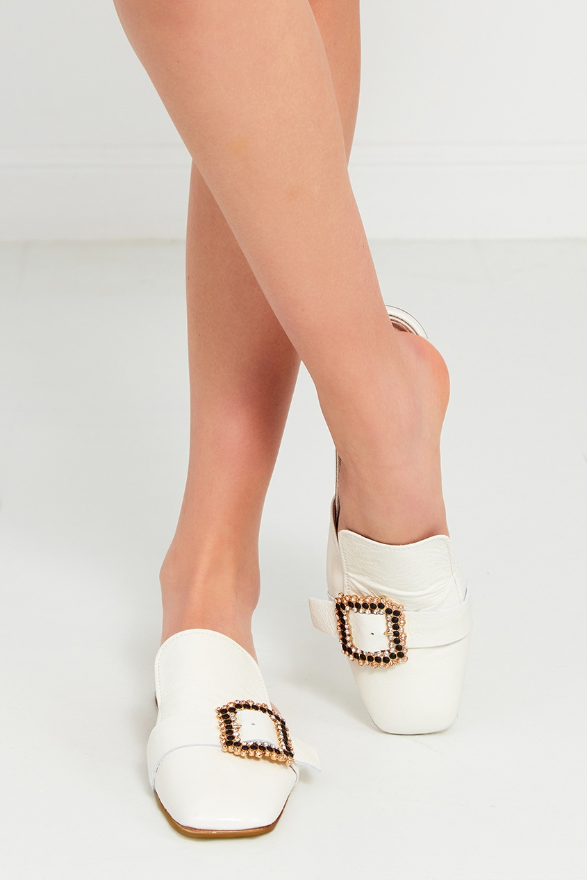 AGL Туфли с декоративной пряжкой ist пояс из кордуры с пластиковой пряжкой