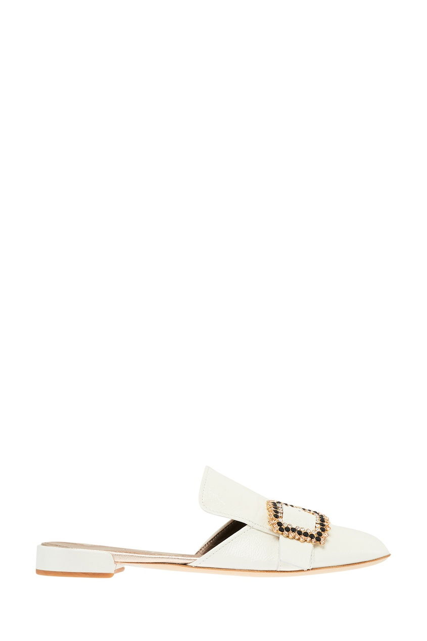 Туфли с декоративной пряжкой
