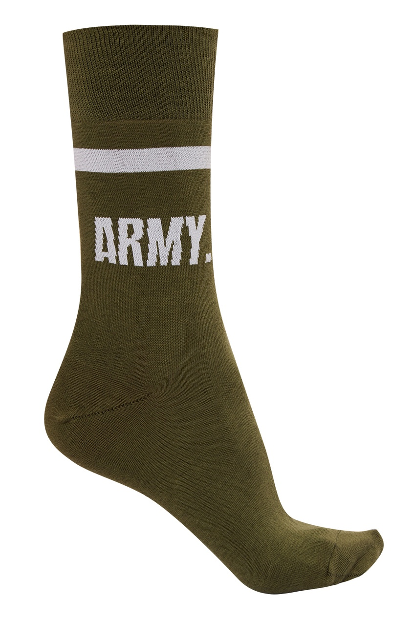 Носки с надписью Army