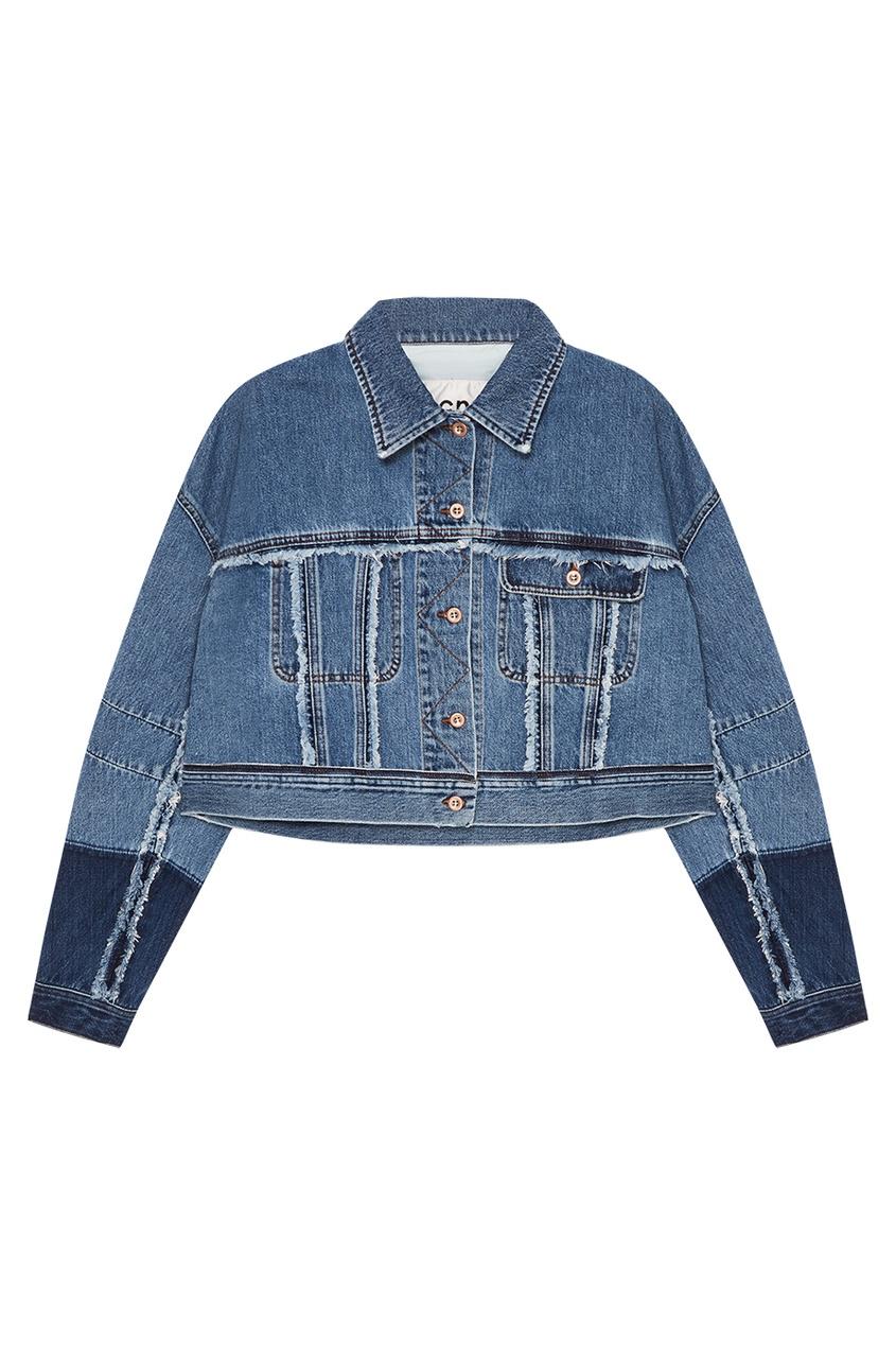 Acne Studios Короткая джинсовая куртка Kremi acne studios кожаная куртка myrtle