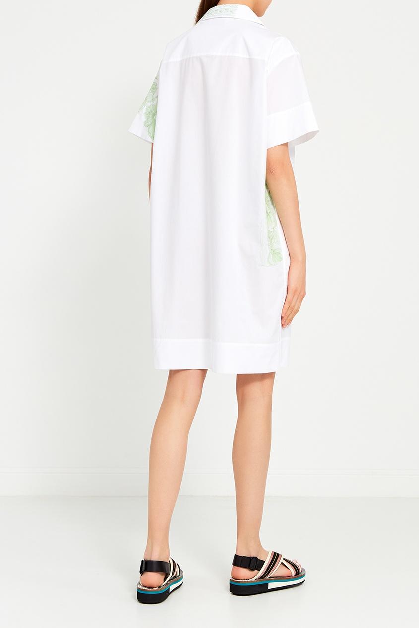 Acne Studios Платье-рубашка с принтом Jusso платье рубашка fox yulia sway платье рубашка fox