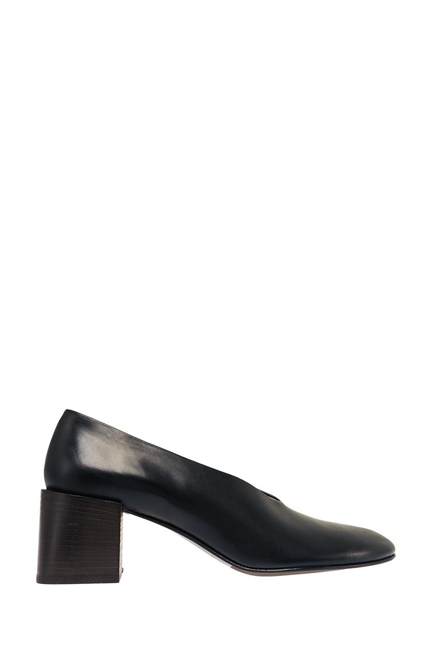 Черные кожаные туфли Sully