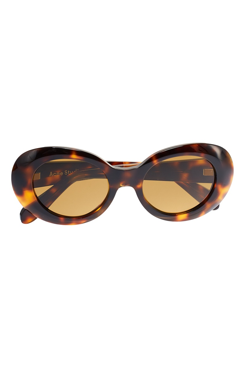 Acne Studios Очки Mustang в черепаховой оправе очки с деревянной оправой киев