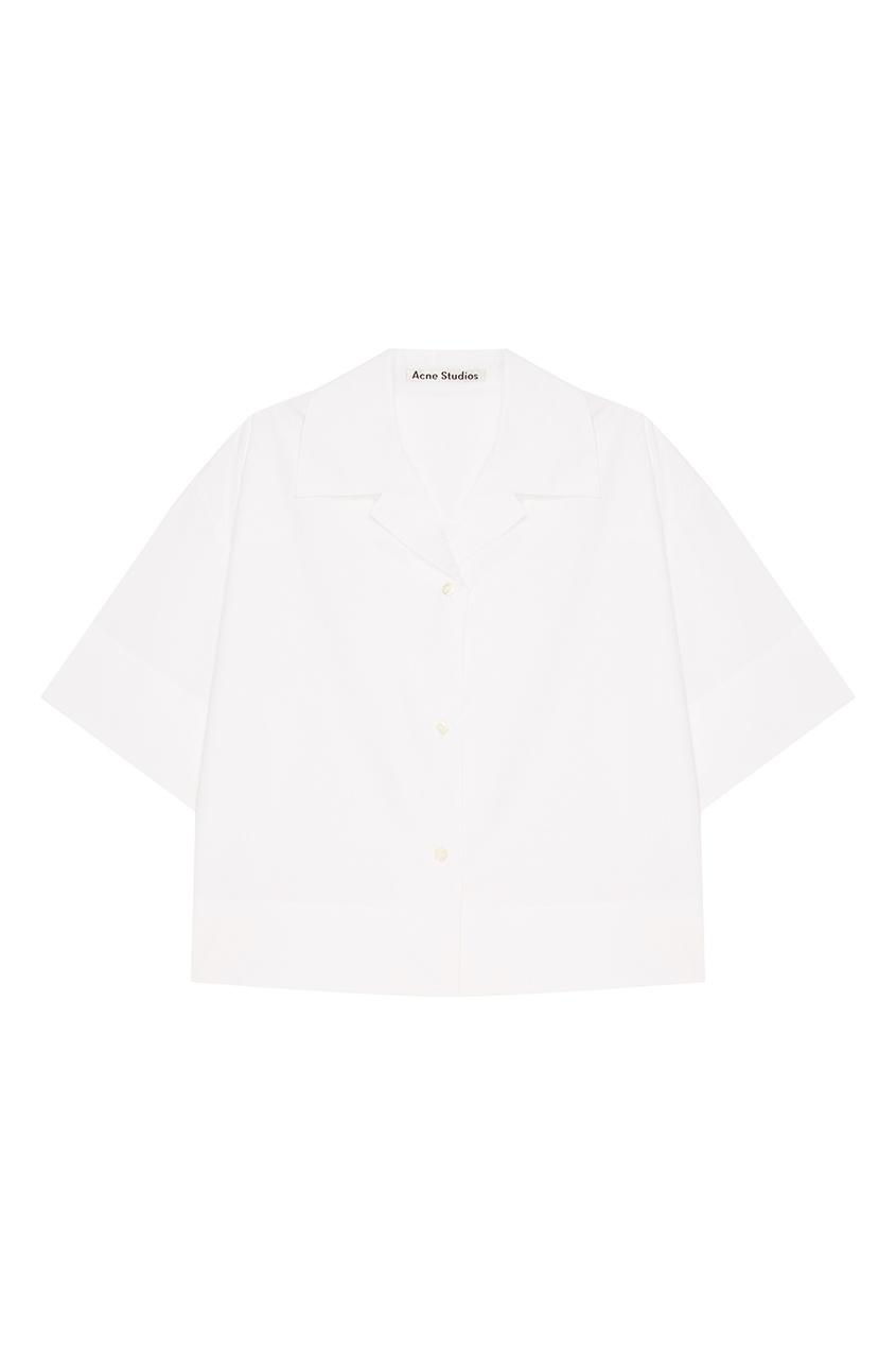 Acne Studios Хлопковая блузка А-силуэта Lelija theory полосатая блузка а силуэта