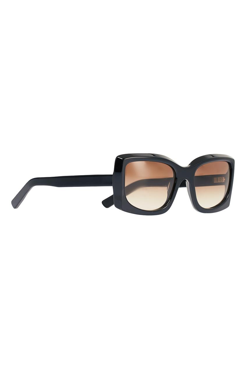 Прямоугольные черные очки Anitha