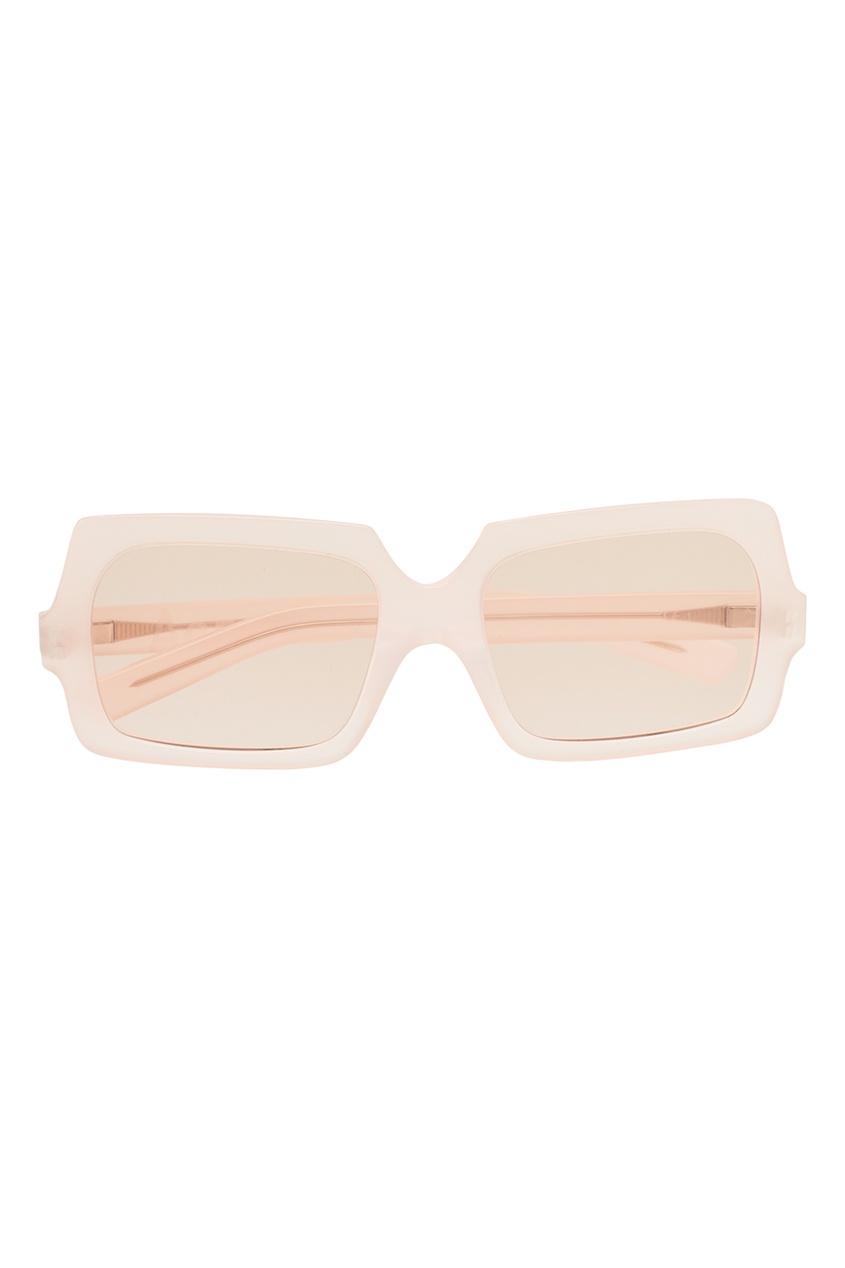 Acne Studios Полупрозрачные розовые очки George Large джинсы acne studios джинсы бойфренды