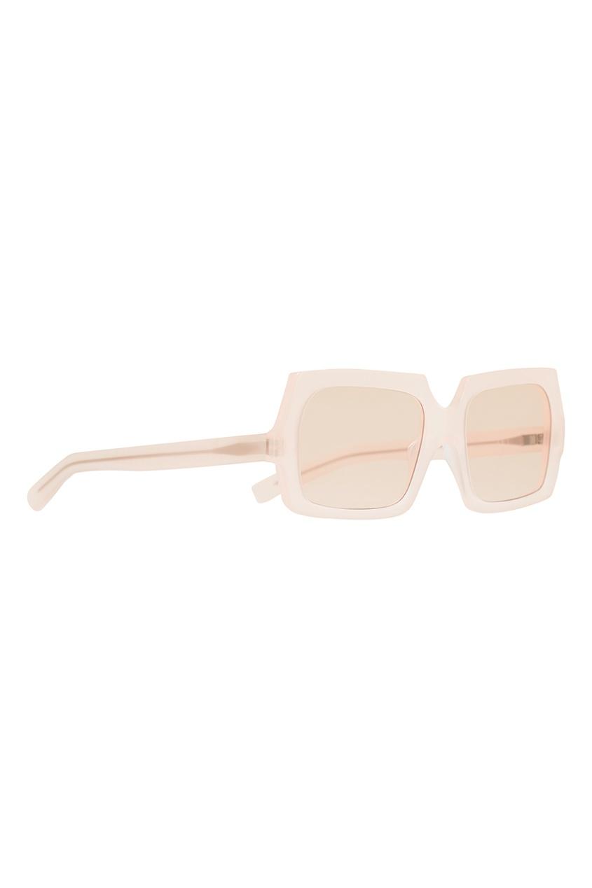 Полупрозрачные розовые очки George Large