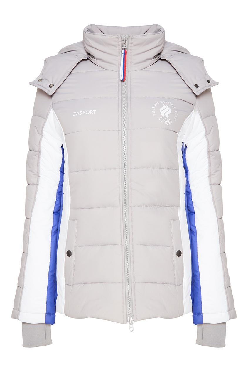 ZASPORT Куртка с контрастными деталями bonpoint кожаный портфель с контрастными деталями