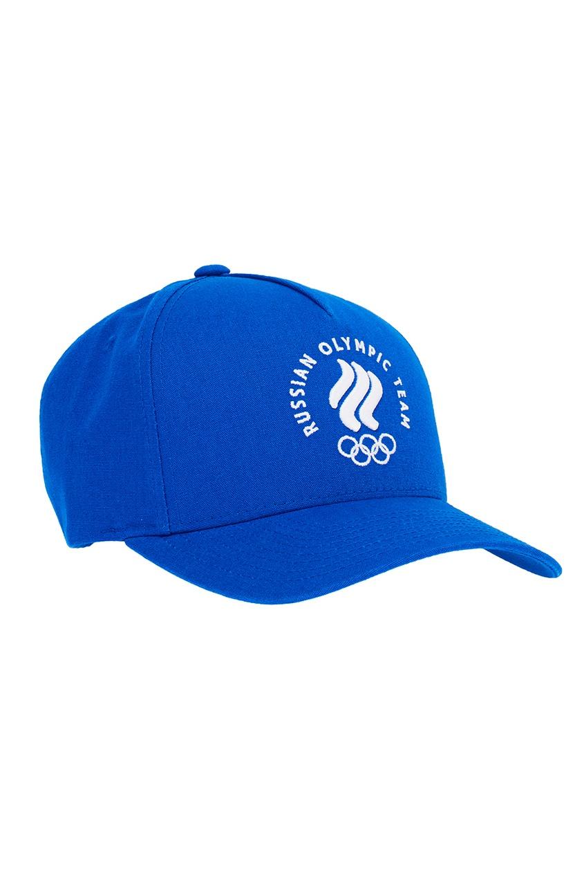 ZASPORT Синяя бейсболка с вышивкой предметы с олимпийской символикой
