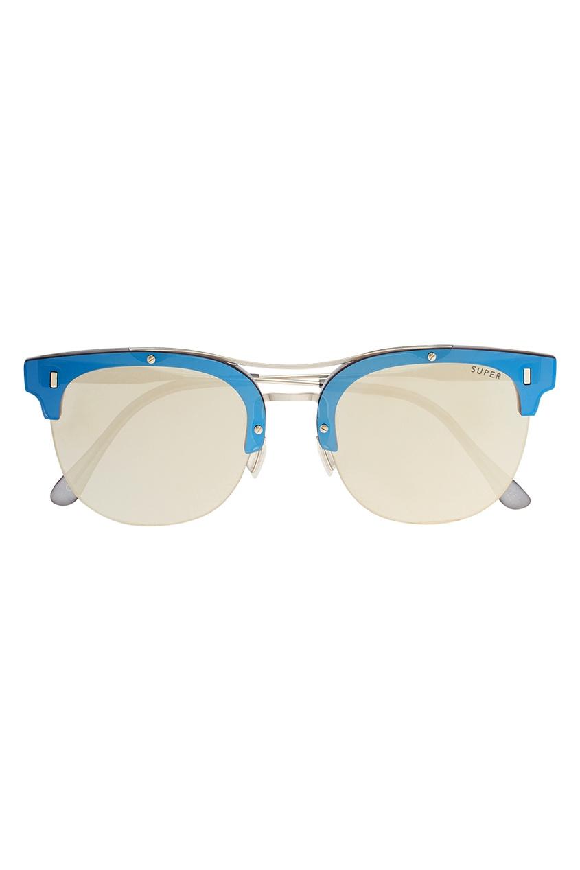 RETROSUPERFUTURE Очки с контрастной оправой очки с деревянной оправой киев