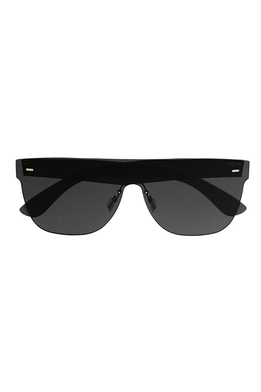 RETROSUPERFUTURE Серые очки с моно-линзой защитные очки truper lede xn серые 10828
