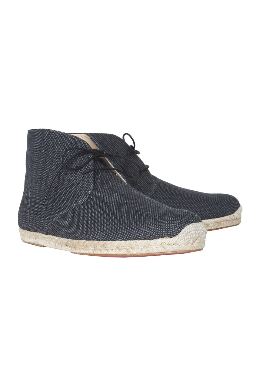 Кожаные ботинки Сadaques Flat Nid D'Abeille/Rope