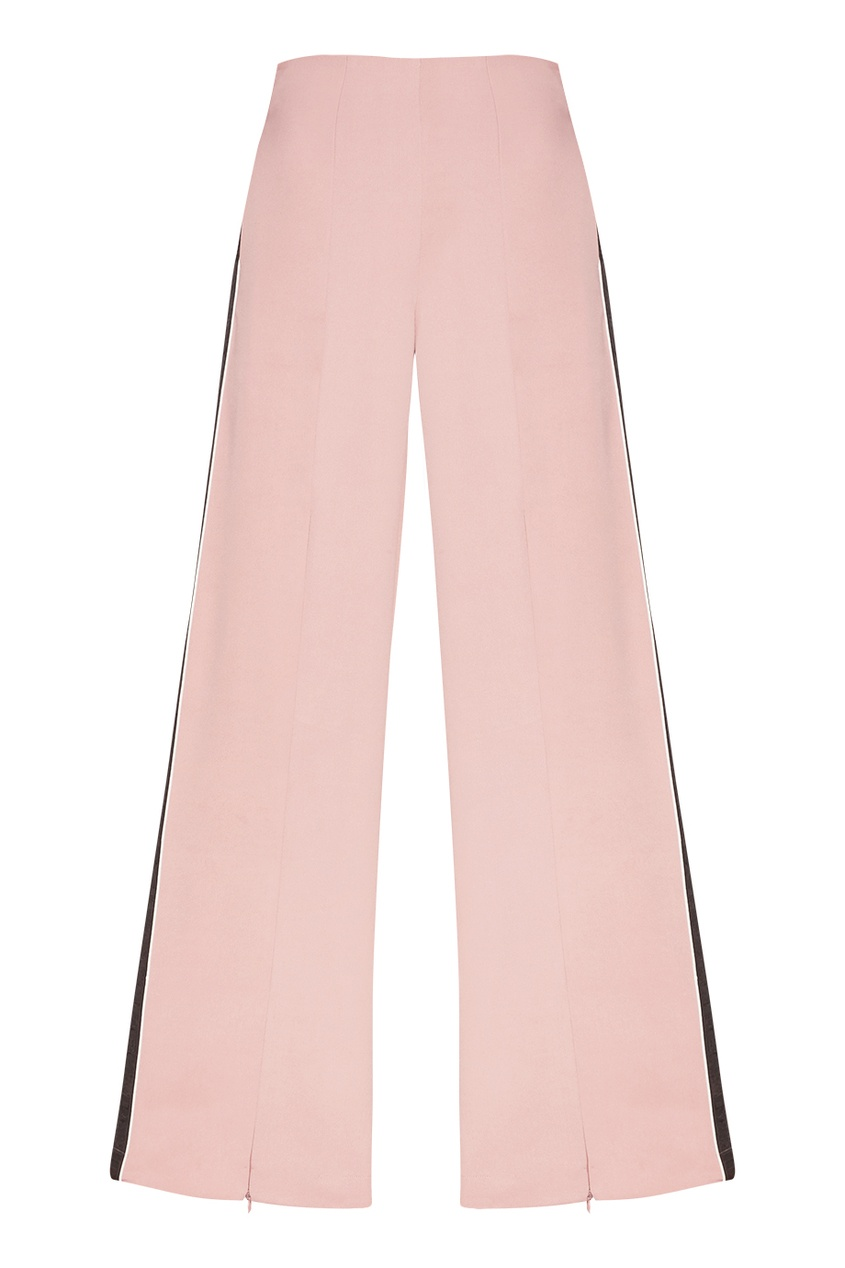 Daily Paper Розовые брюки с лампасами