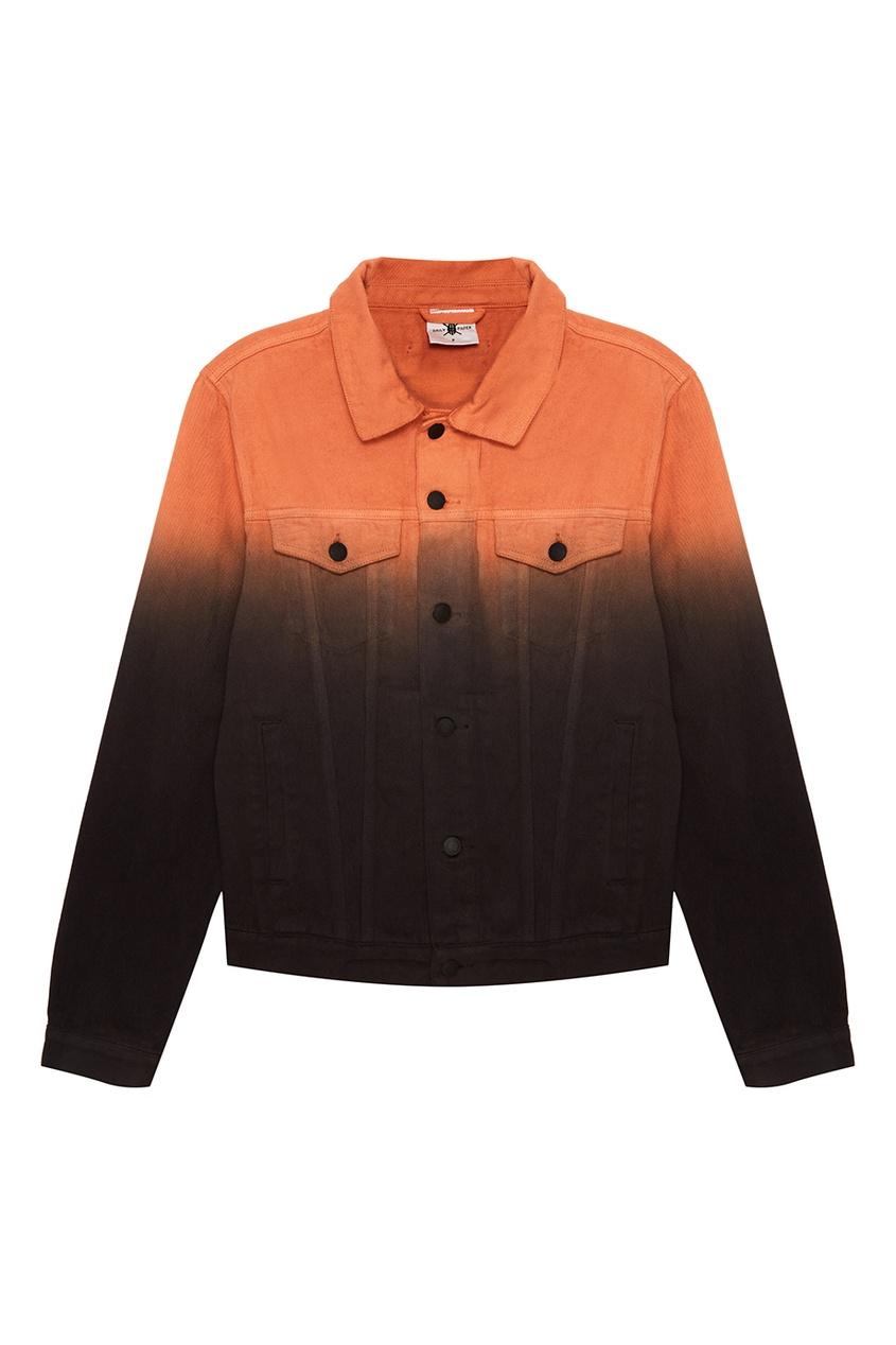 Daily Paper Джинсовая куртка с градиентным эффектом