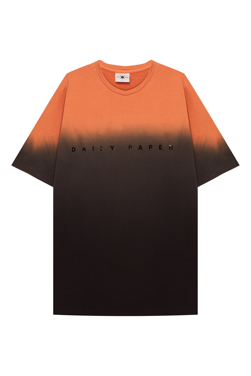 Daily Paper Хлопковая футболка с градиентом
