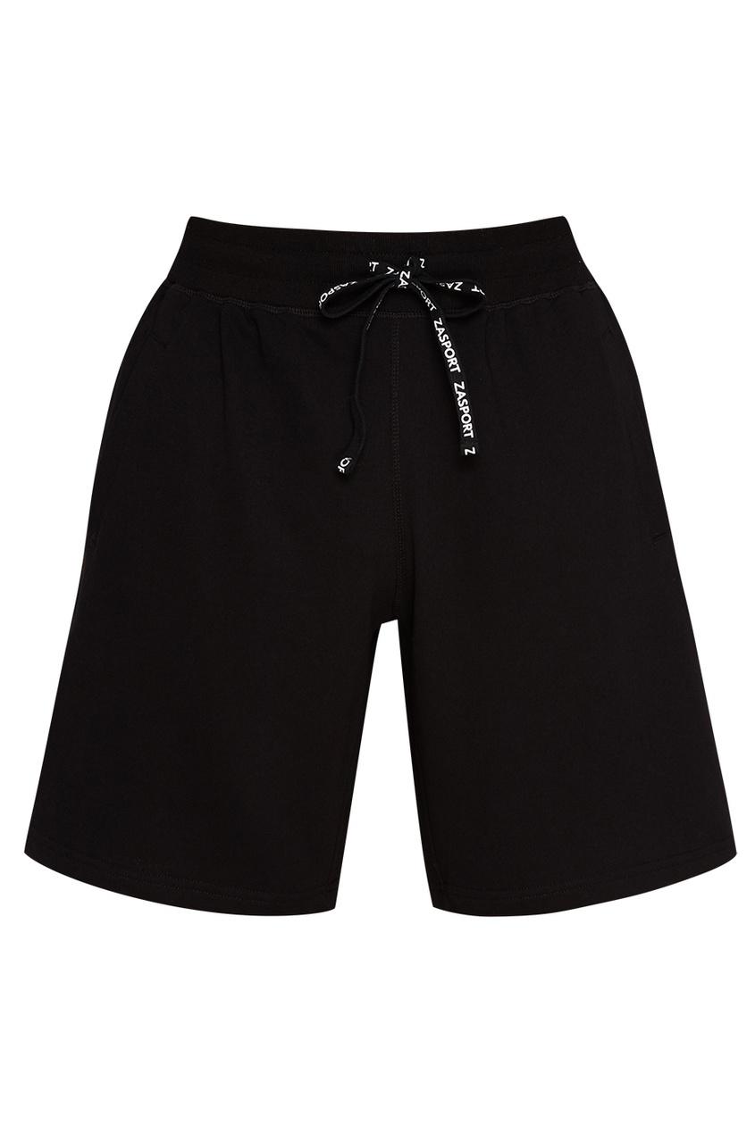 ZASPORT Черные шорты с завязками