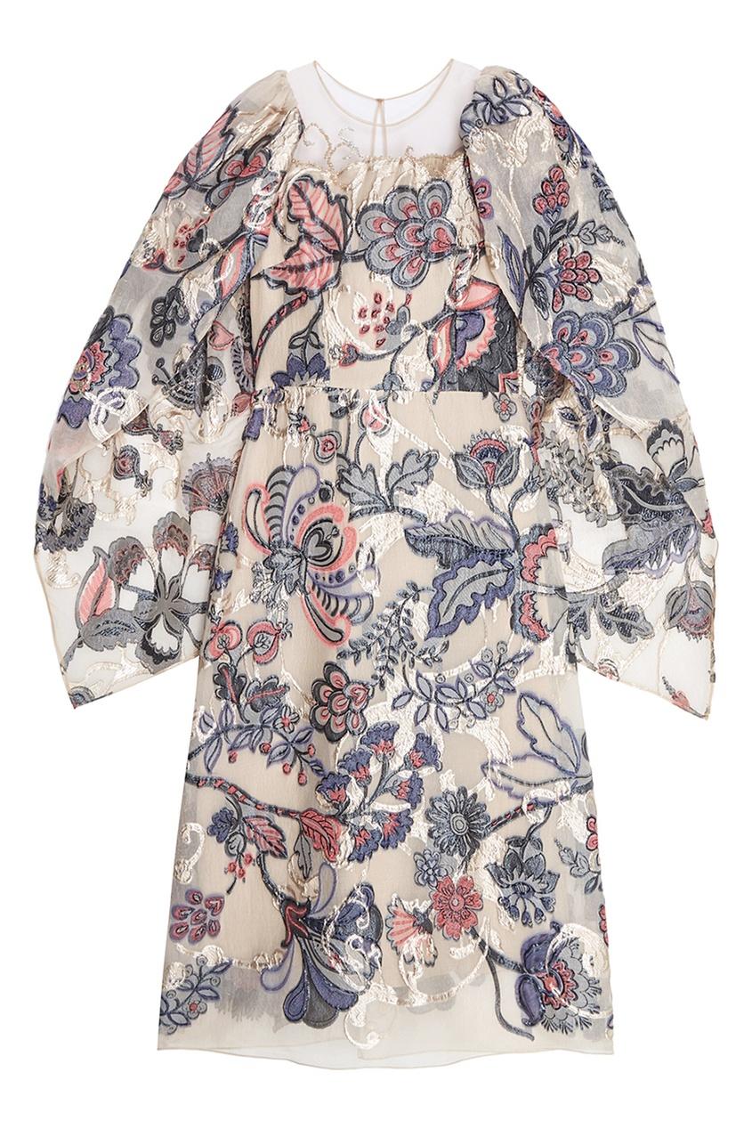 Alena Akhmadullina Платье с цветочным узором alena akhmadullina платье с макропринтом