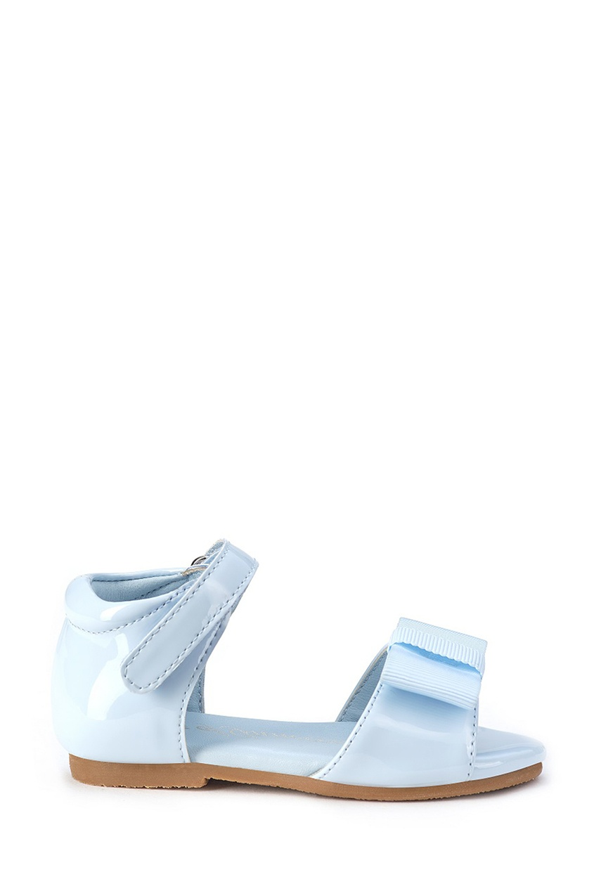 Голубые сандалии с бантом Mary