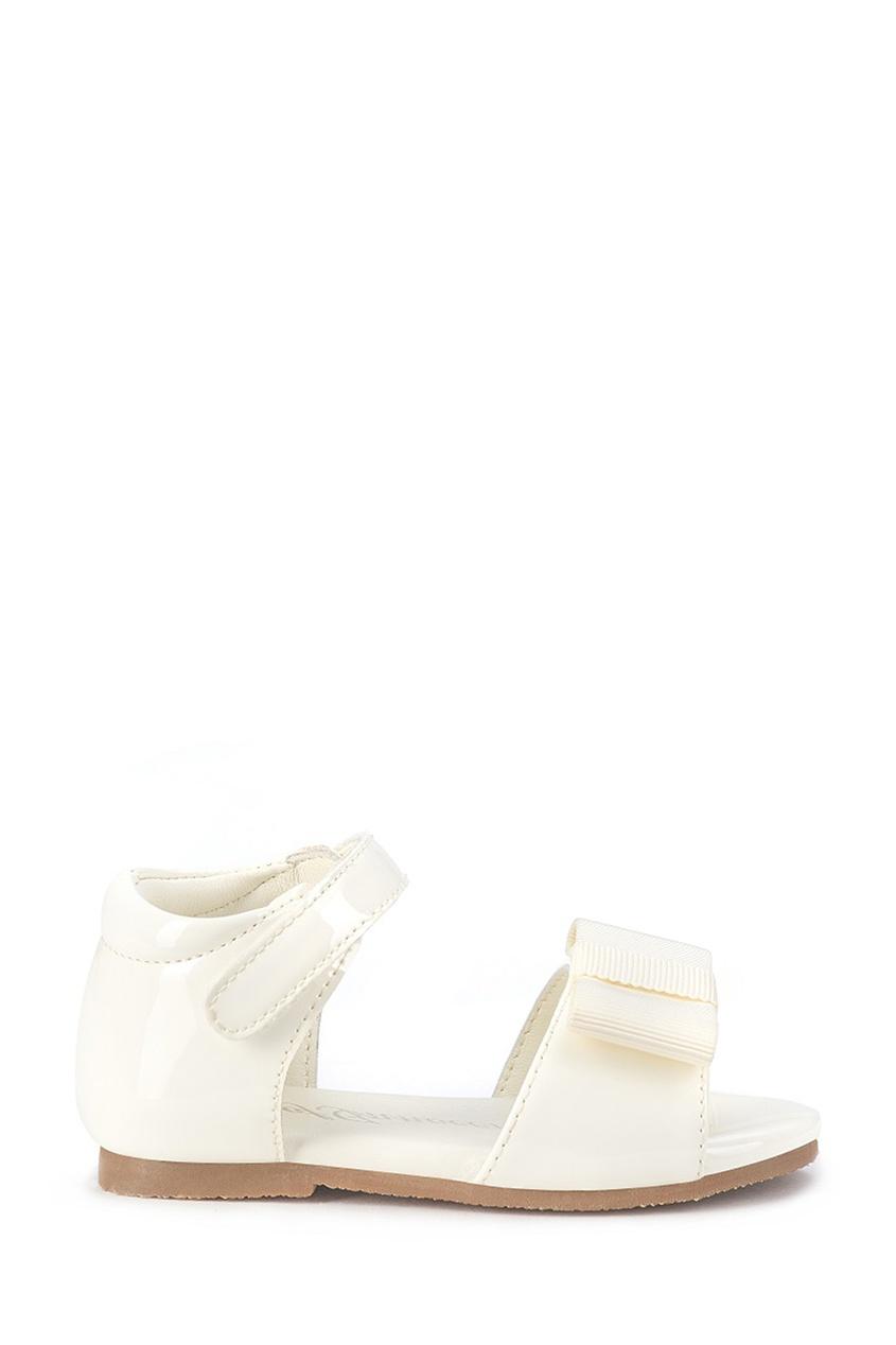 Белые сандалии с бантом Mary