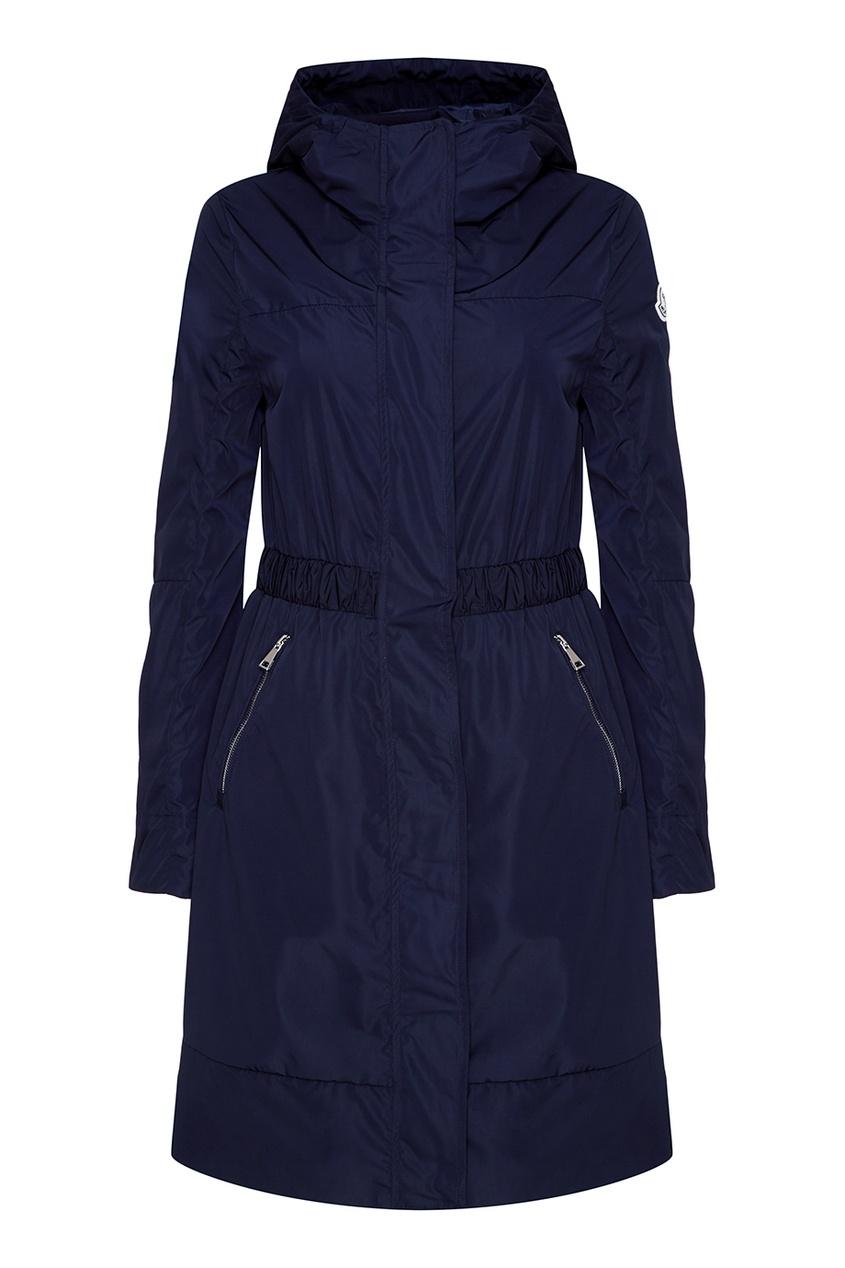 Moncler Синяя куртка с капюшоном rnt23 темно синяя вельветовая куртка