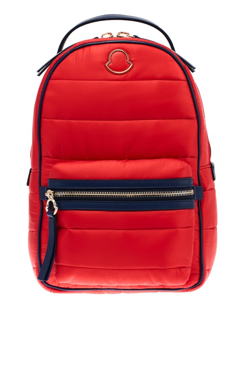 женский рюкзак moncler, красный