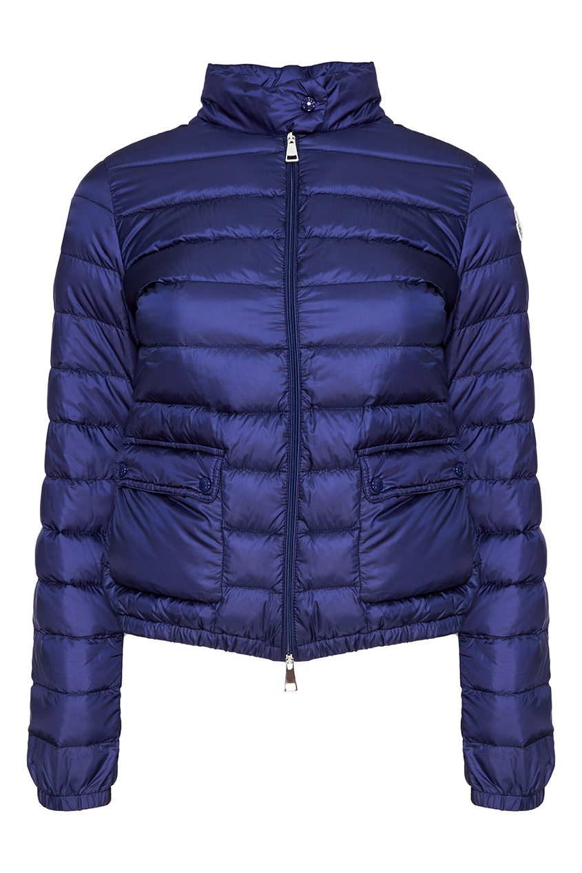 все цены на Moncler Синяя стеганая куртка