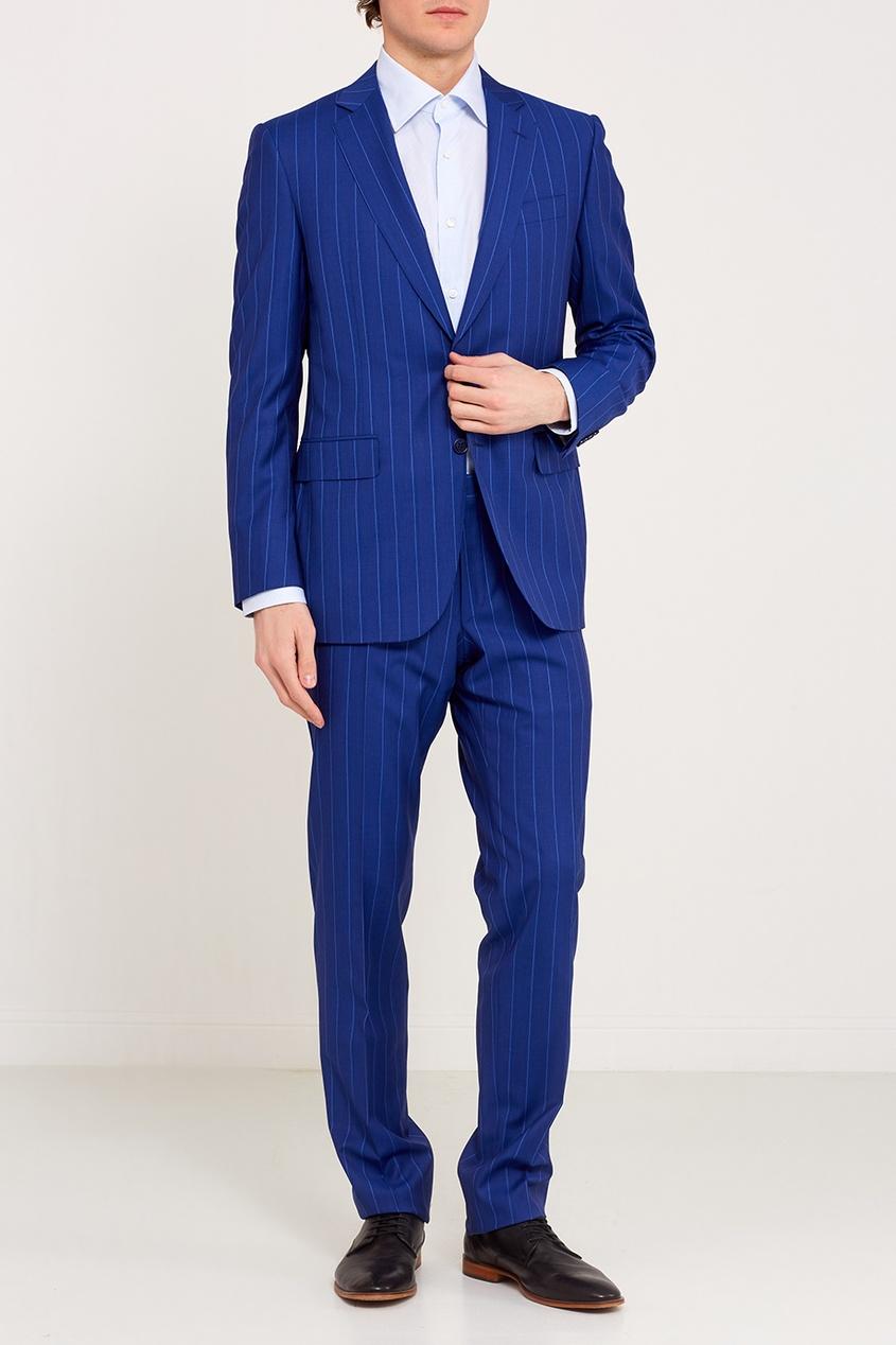 картинки костюм мужской синий защите