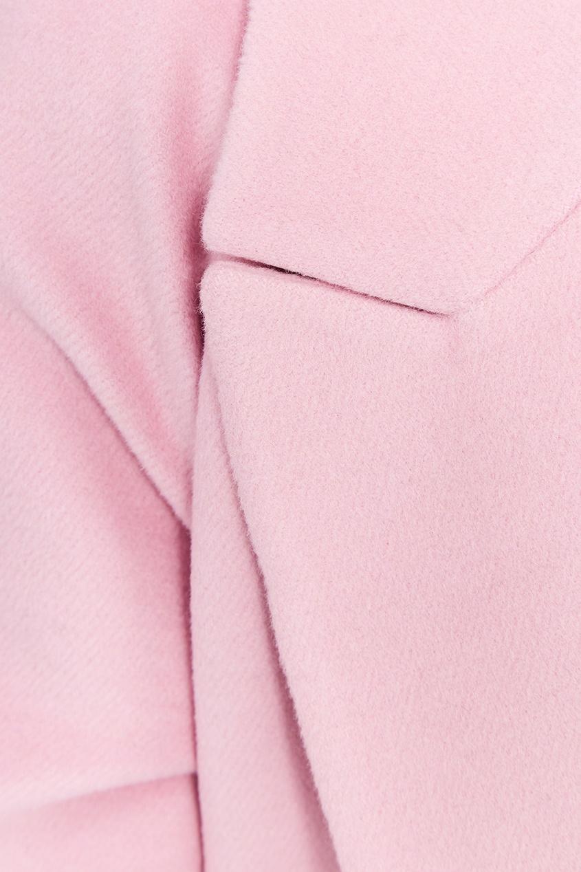 I Am  Studio Розовое пальто из шерсти dimma fashion studio пальто элфин серый