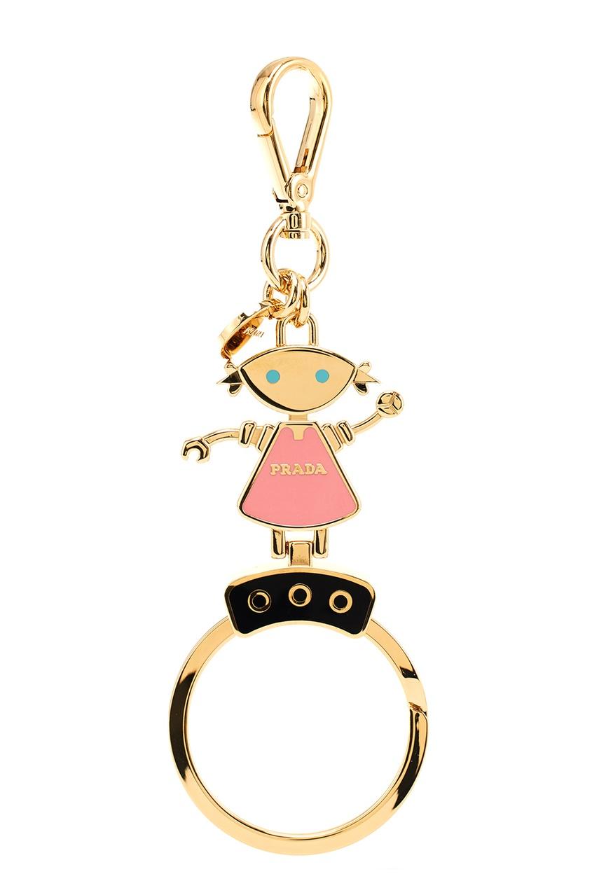 Prada Брелок для ключей в виде девочки-робота
