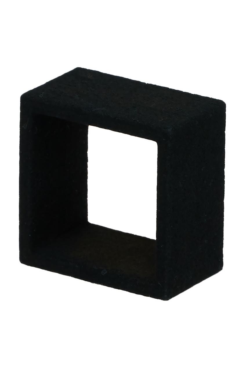 Belki Rings Черное кольцо Half