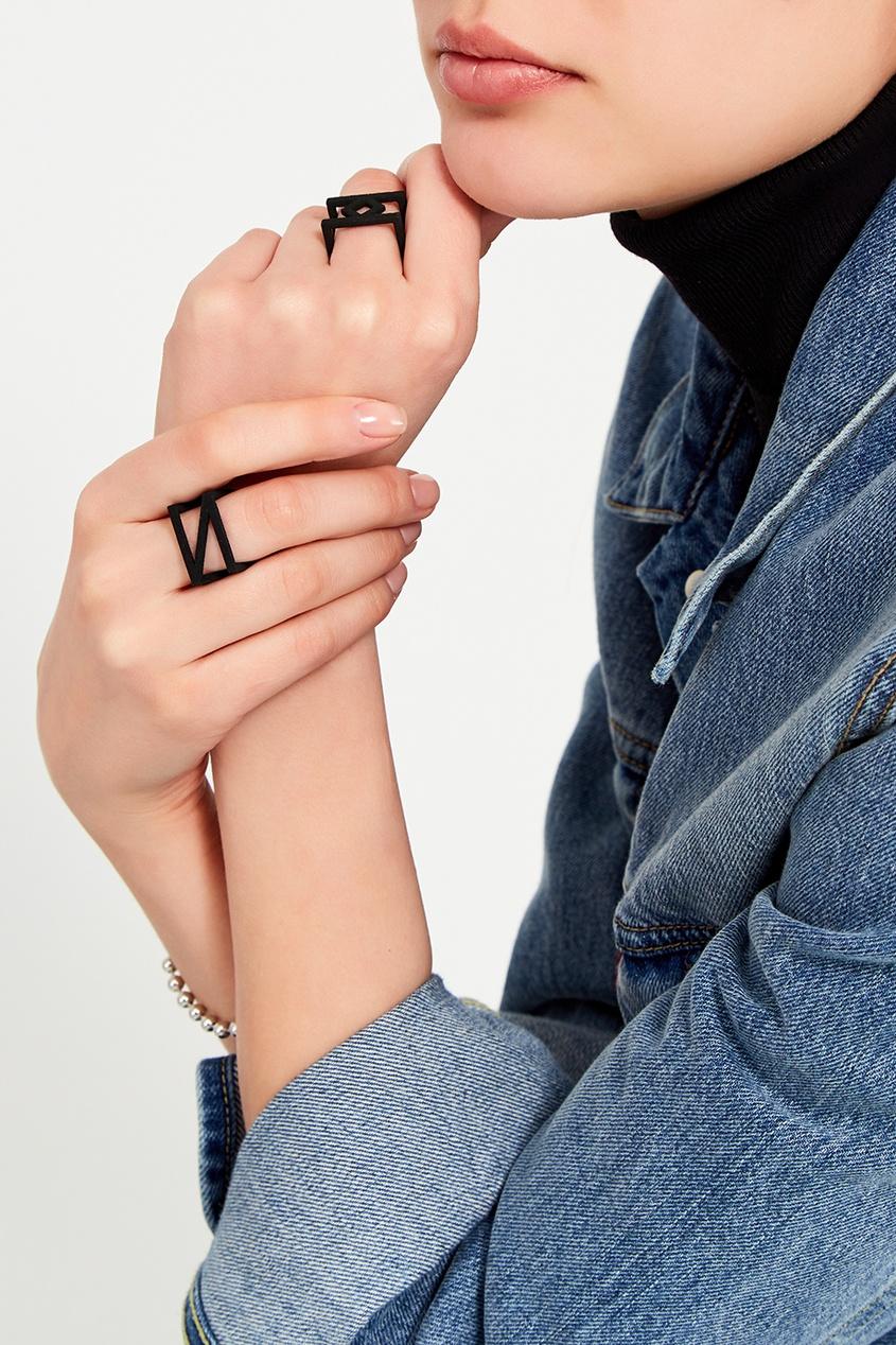 Belki Rings Черное кольцо Olimp кольцо yc size6 14 8 rings
