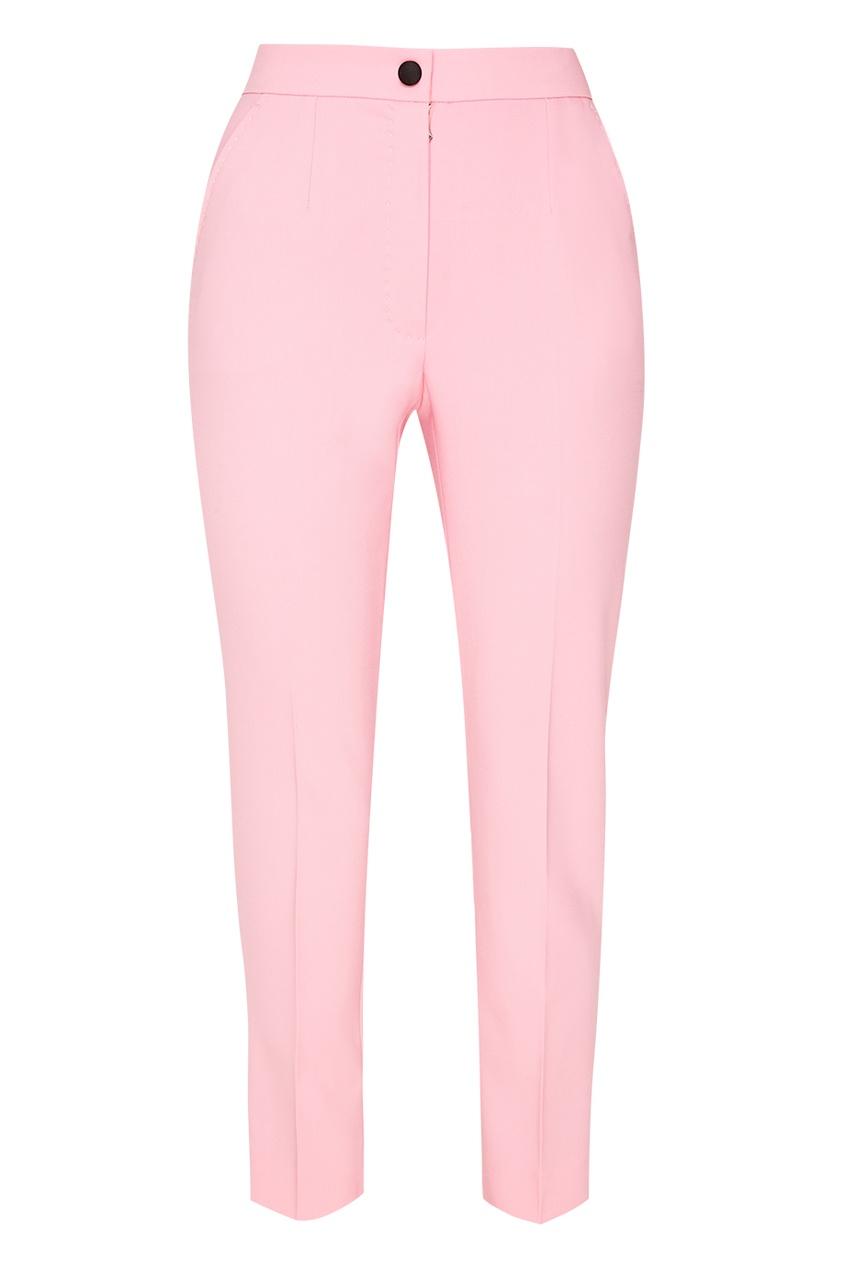 Dolce&Gabbana Розовые брюки со стрелками