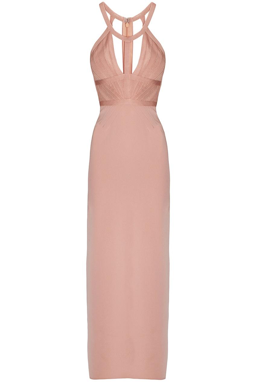 Платье из вискозы, нейлона и спандекса Jayla Herve Leger