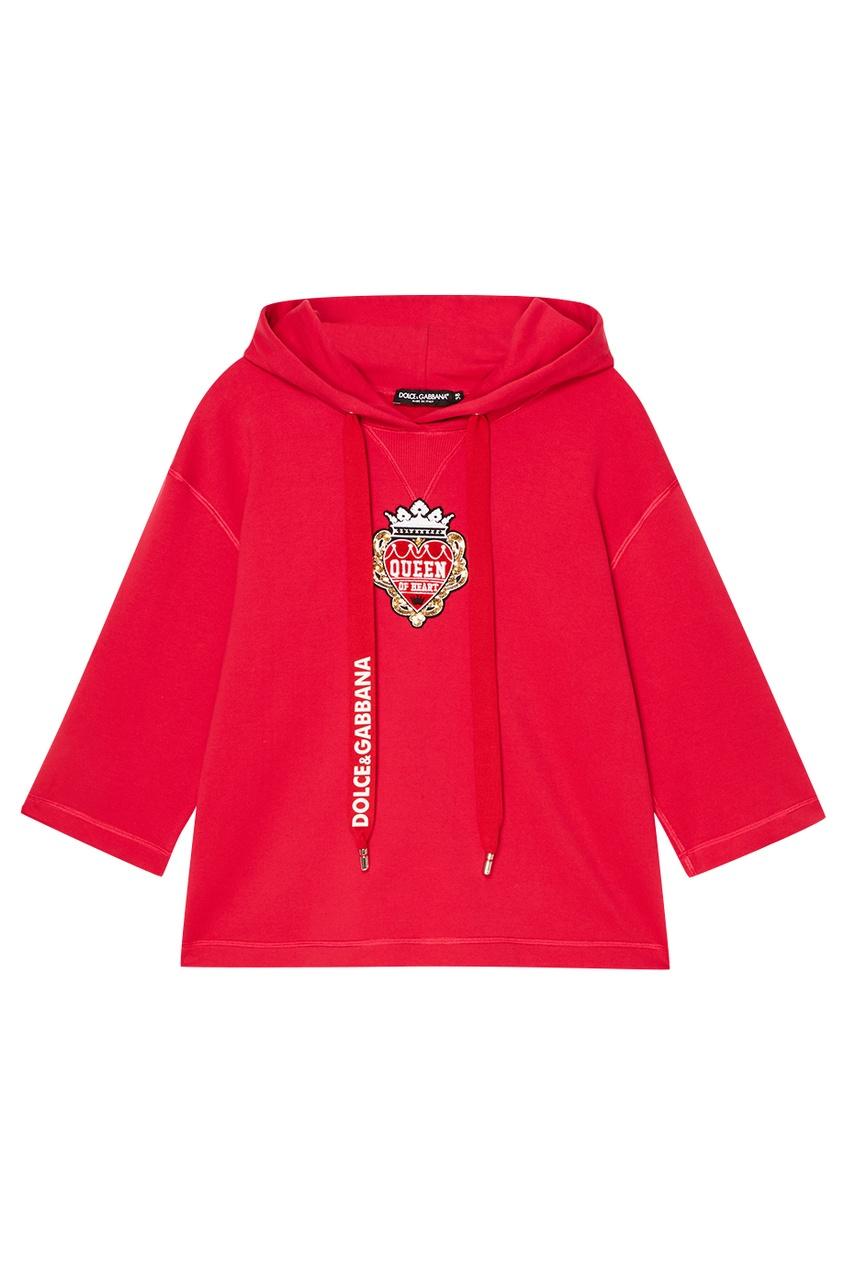 Dolce&Gabbana Худи с аппликацией
