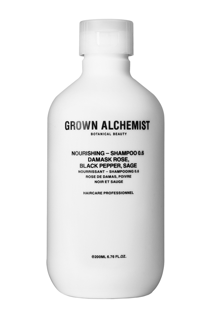 Grown Alchemist Питательный шампунь, 200 ml ahava питательный крем для тела dermud deadsea mud 200 мл питательный крем для тела dermud deadsea mud 200 мл 200 мл
