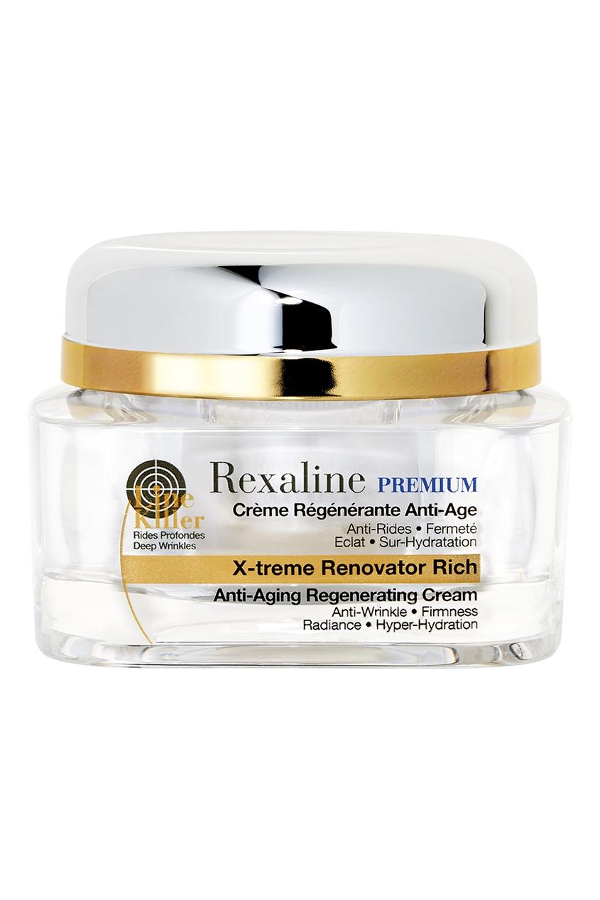 Rexaline Антивозрастной регенерирующий обогащенный крем для лица и шеи, 50 ml