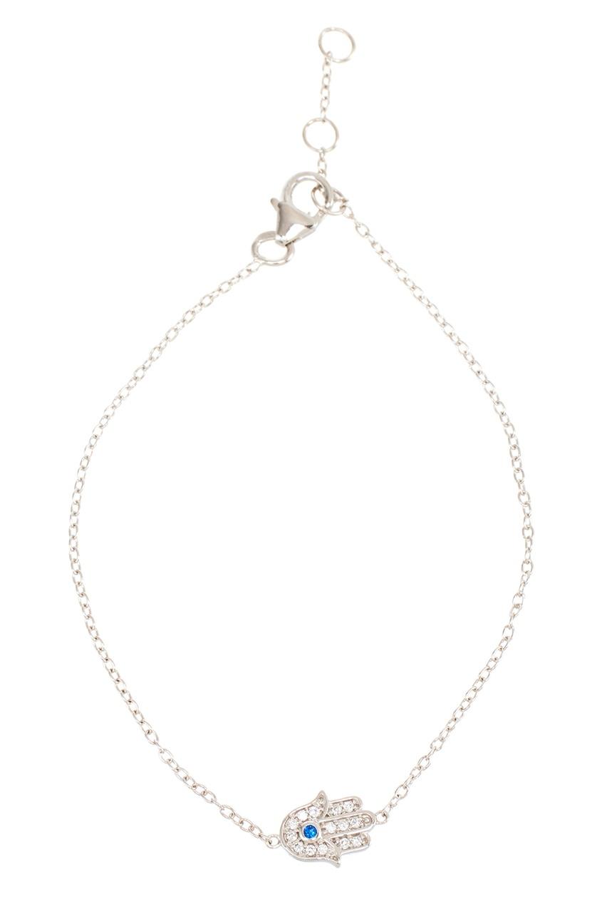 Exclaim Серебряный браслет с амулетом exclaim подвеска pearls посеребрение