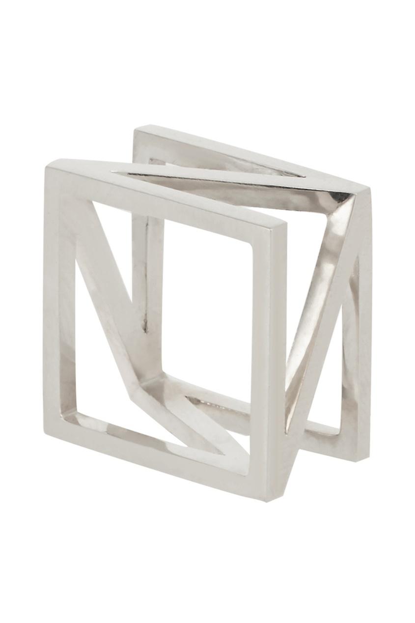 Belki Rings Серебряное кольцо Diagonal