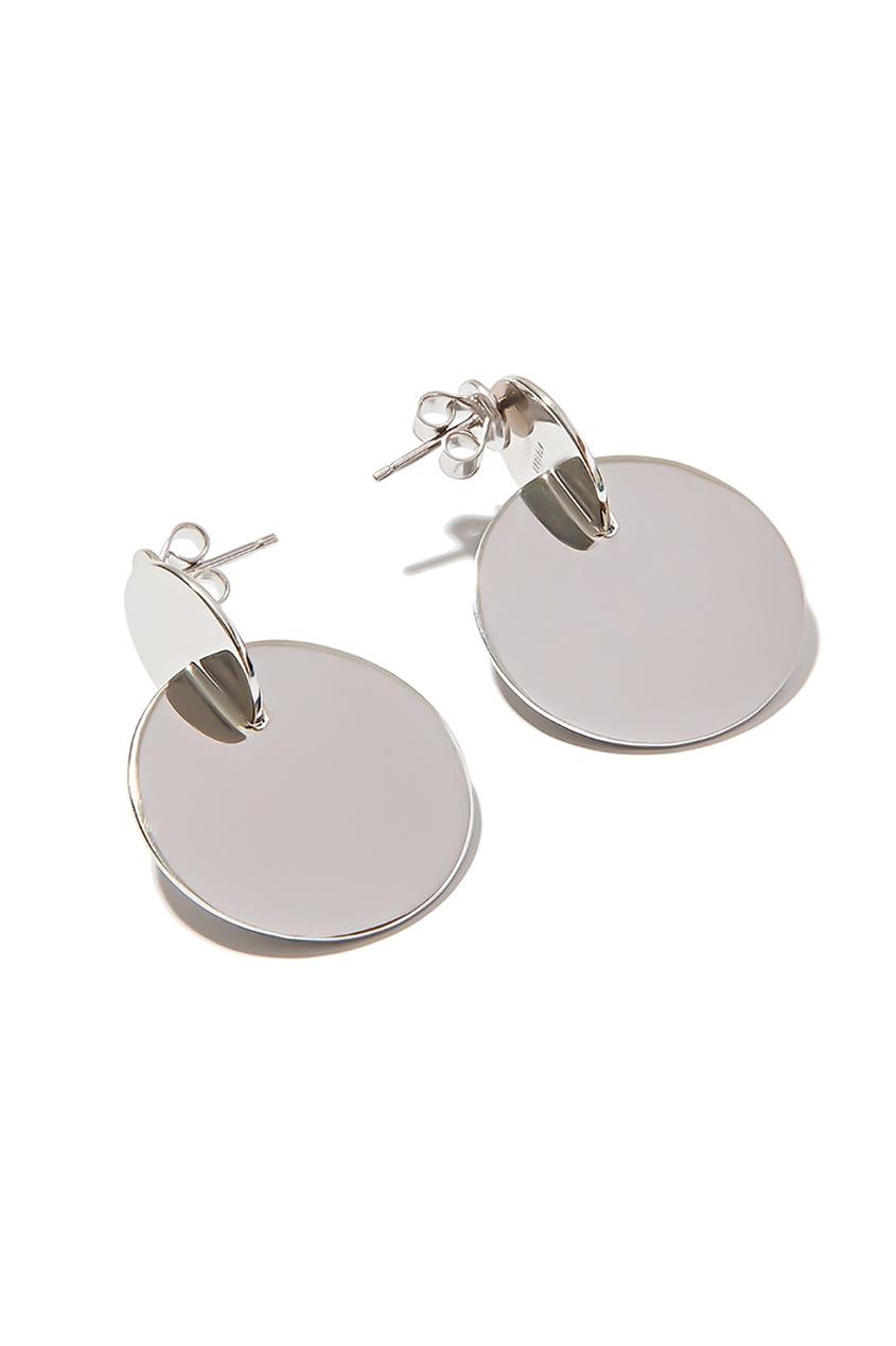 Exclaim Серьги с геометрическим дизайном exclaim подвеска pearls посеребрение