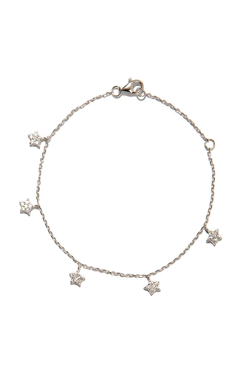 Exclaim Браслет со звездами браслеты exclaim легкий браслет цепочка с миниатюрными цирконами