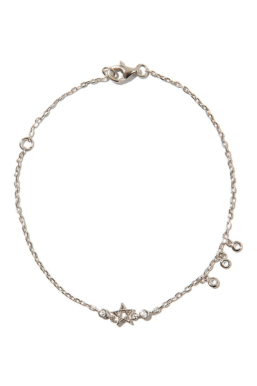 Exclaim Серебряный браслет с подвесками exclaim браслет цепочка серебряный с подвесками