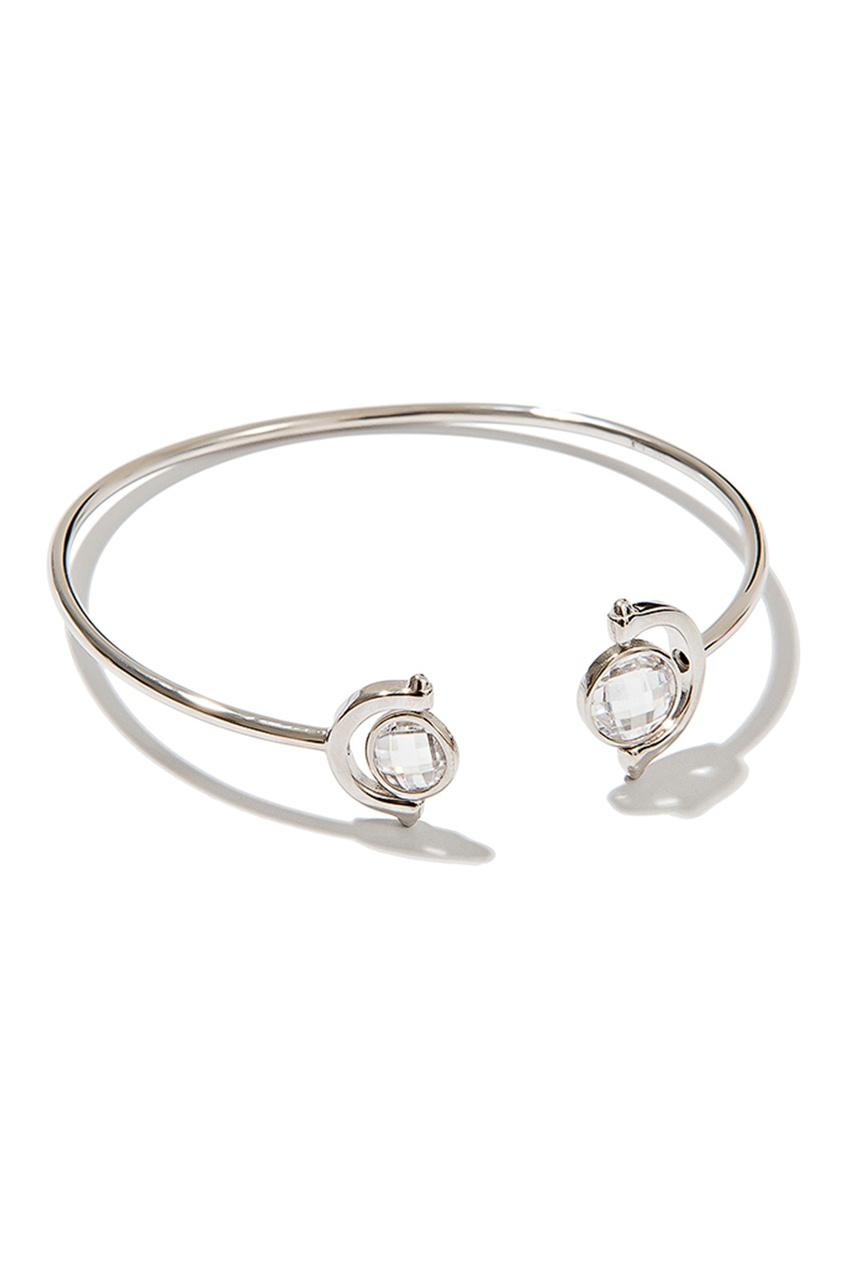 Exclaim Браслет с блестящими кристаллами exclaim серебряный браслет с кристаллами