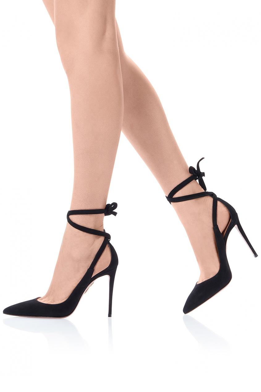 Черные туфли Milano Pump 105