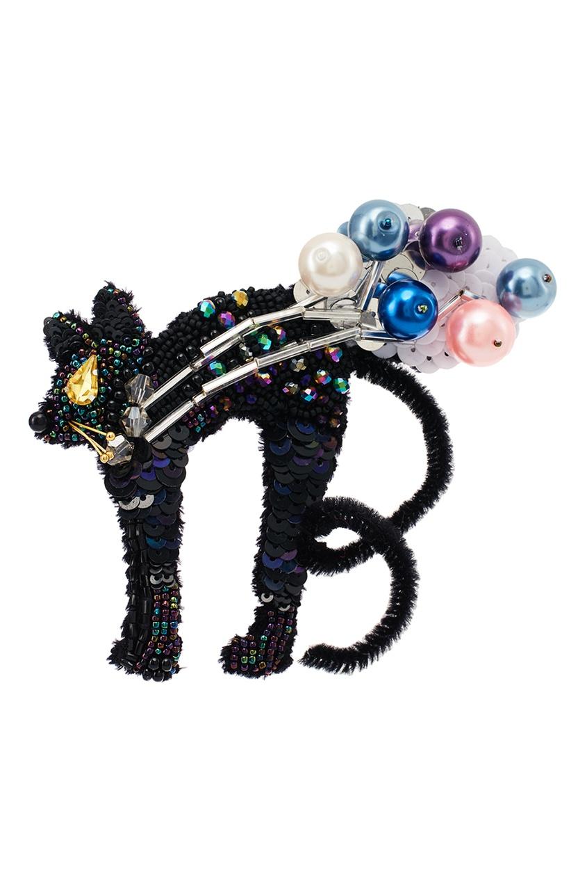 Брошь «Удивительная кошка» PLANKT.ON x MUZA