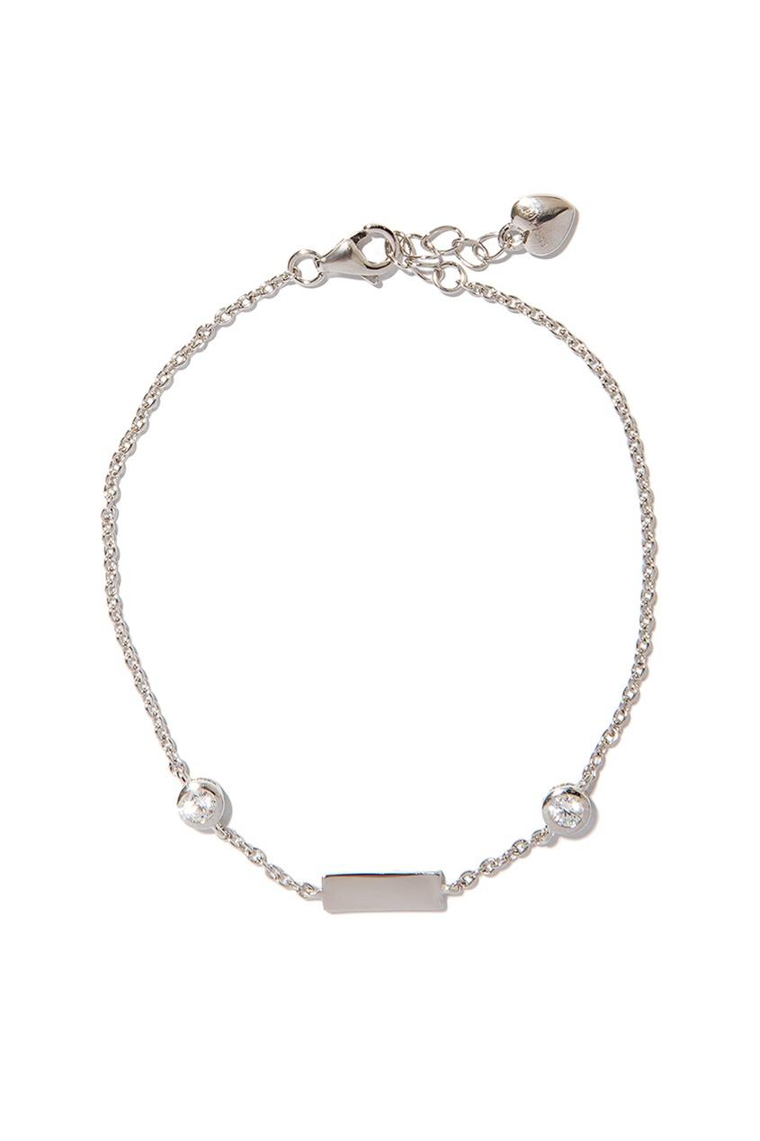 Exclaim Браслет-цепочка с подвесками браслеты exclaim легкий браслет цепочка с миниатюрными цирконами