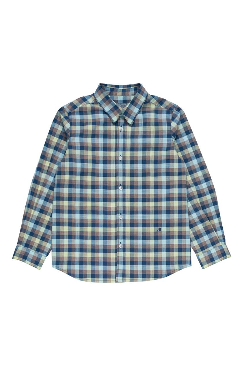 Bonpoint Рубашка в клетку ACTEUR bonpoint жаккардовая юбка в клетку epice