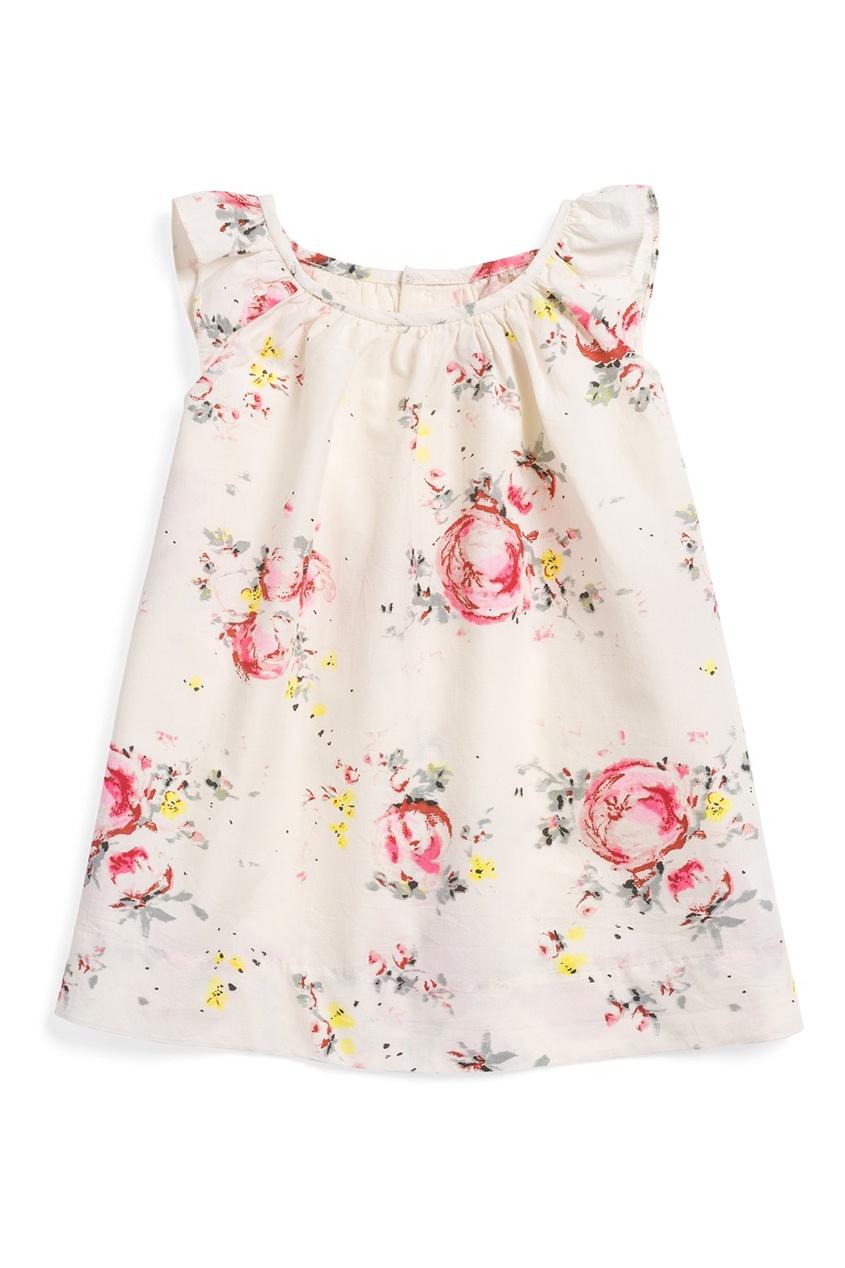 Bonpoint Платье с цветочным принтом AMANDE bonpoint кожаный портфель с контрастными деталями