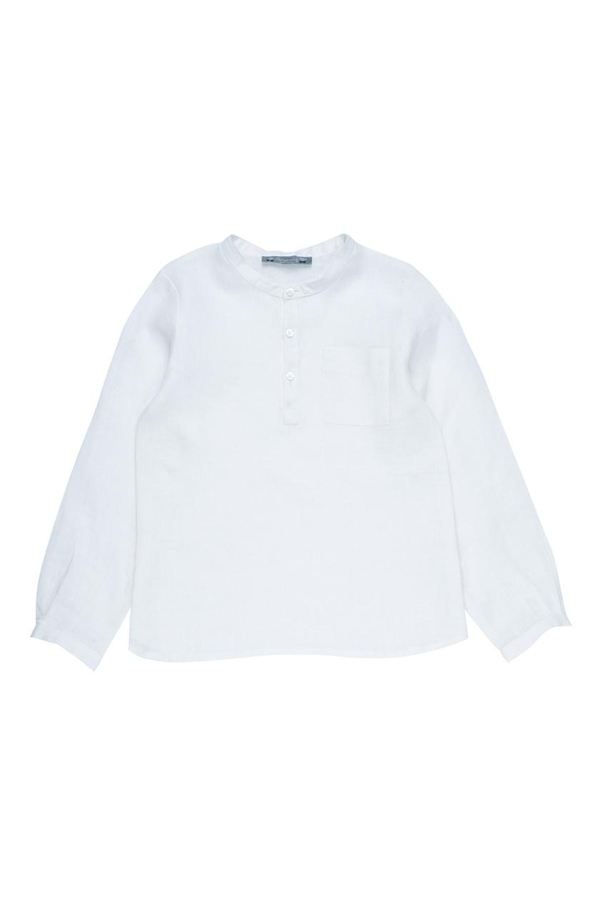Bonpoint Белая льняная рубашка ARTISTE осенние новый пиджак обрезанное корейской версии новый осенний износ тонкая белая рубашка леди рукава белая рубашка